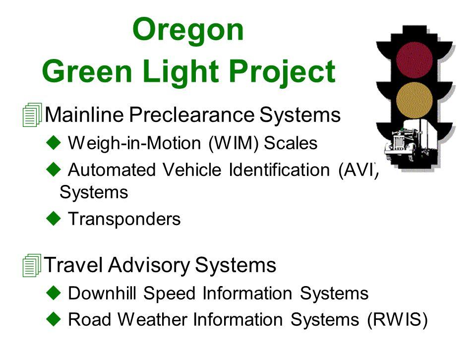 Oregon Green Light Project