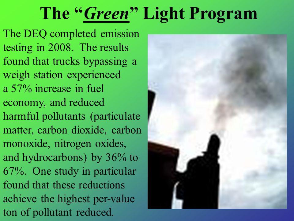 The Green Light Program