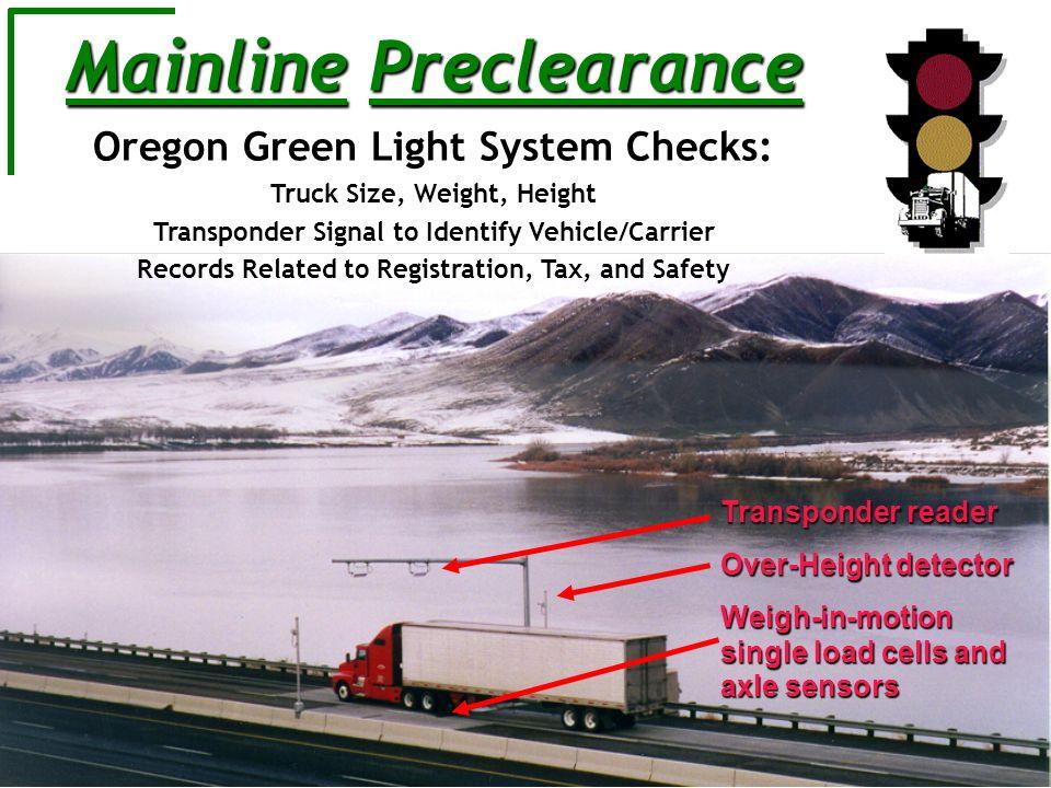 Mainline Preclearance