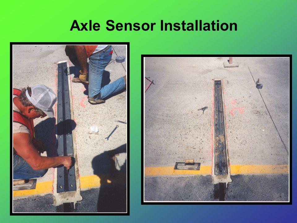 Axle Sensor Installation