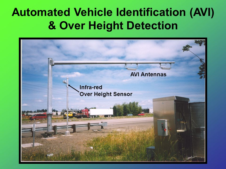 Automated Vehicle Identification (AVI) & Over Height Detection