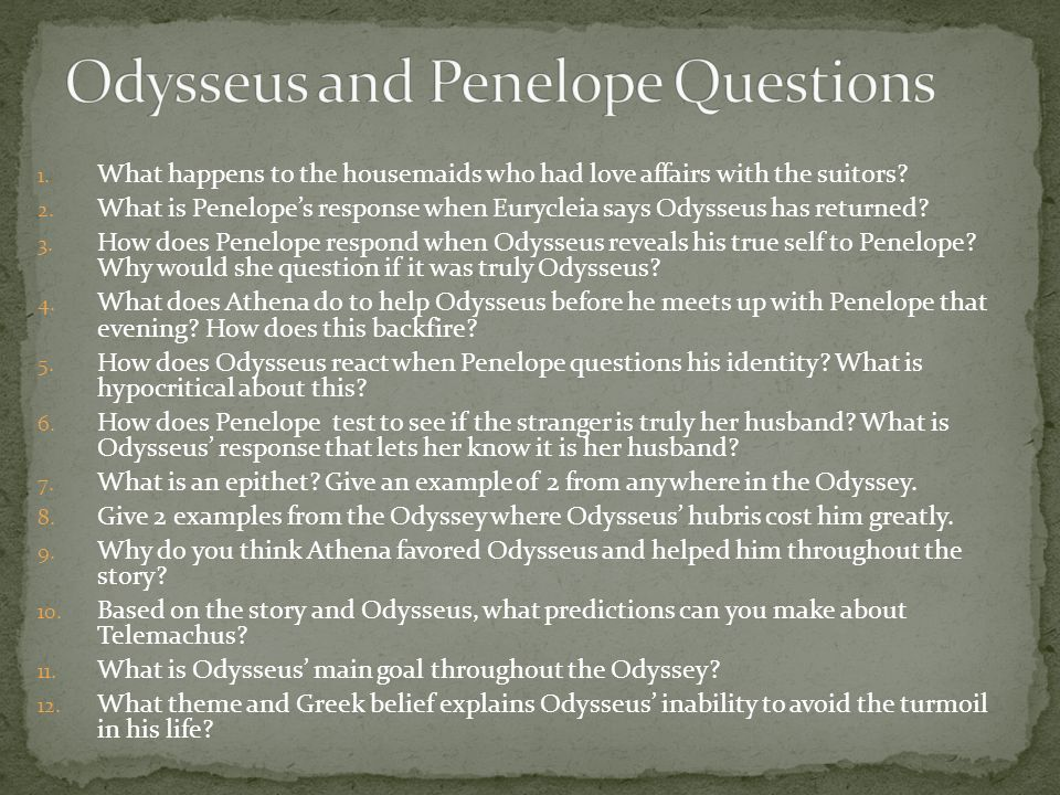 odysseus hubris Get a better understanding of the large cast of characters in the odyssey  odysseus possesses hubris, or pride, which causes him to do really stupid things.