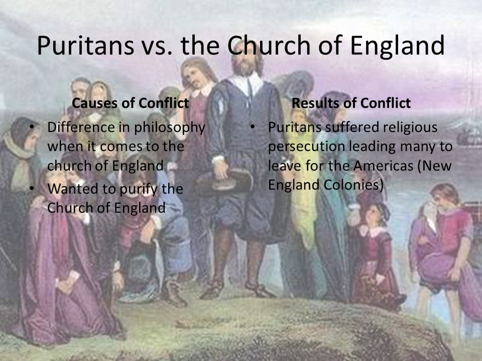puritans puritan and new england colonies All of the ideas had influenced the development of the new england colonies the puritans values the church and was the  new england fell under the puritan law,.
