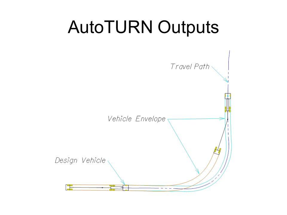 AutoTURN Outputs