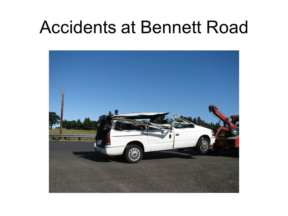 Accidents at Bennett Road