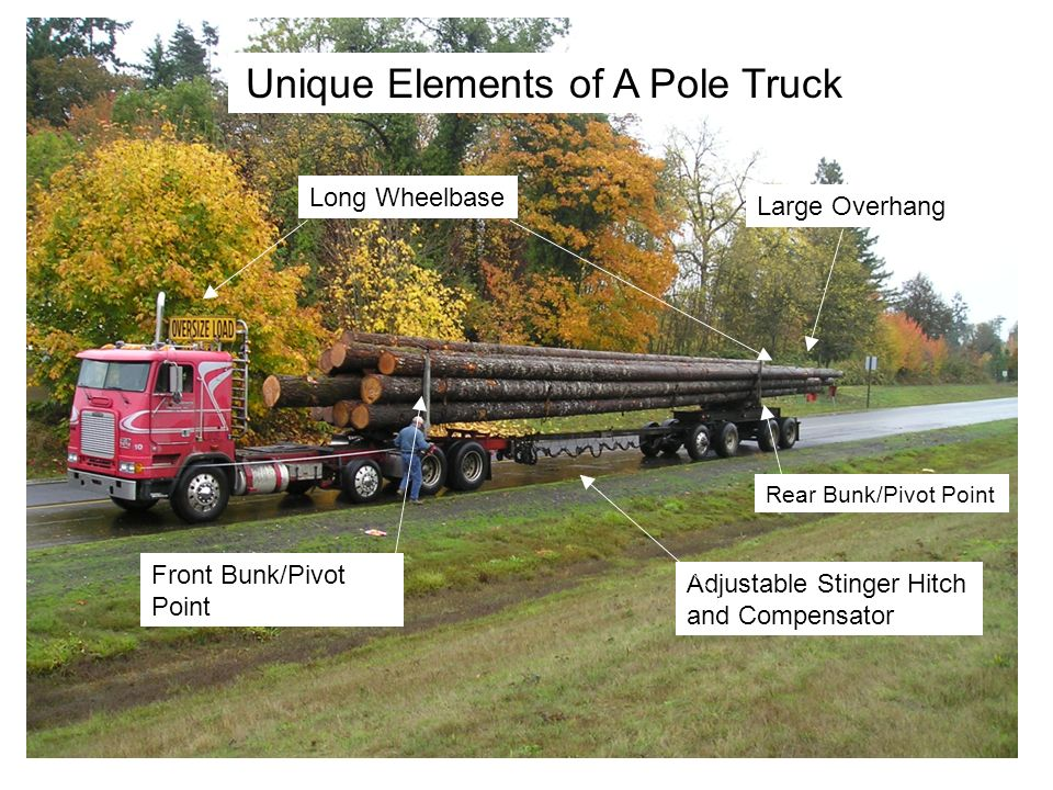 Unique Elements of A Pole Truck