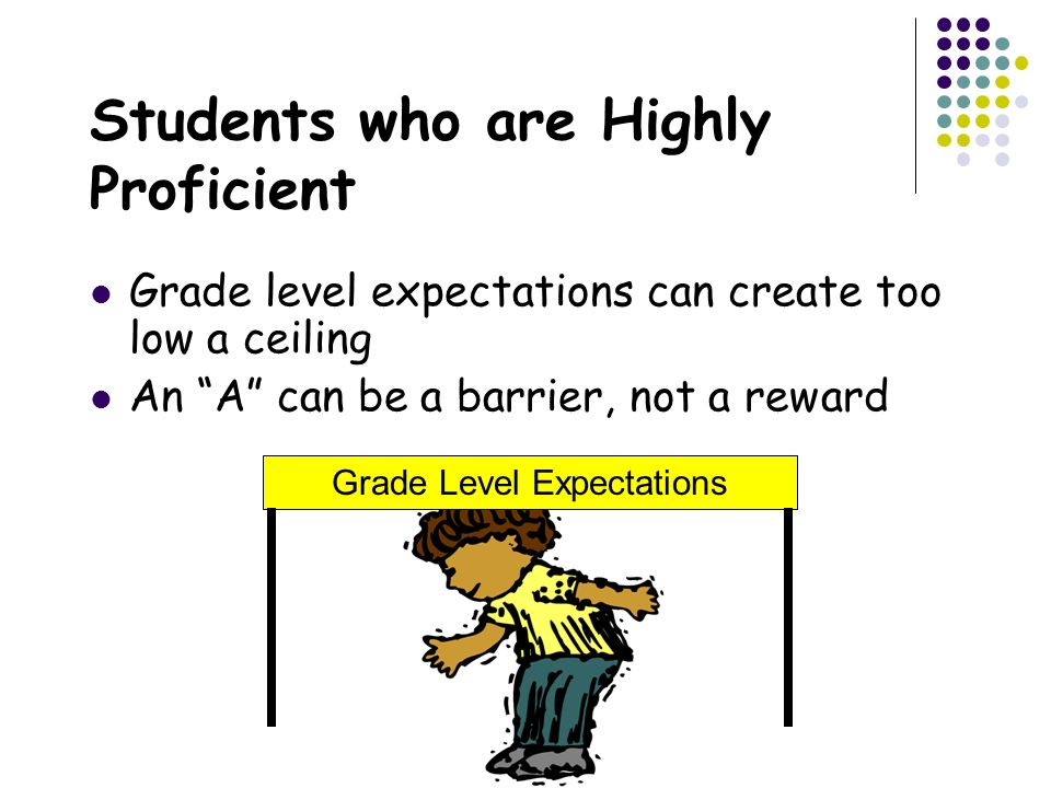 Students who are Highly Proficient