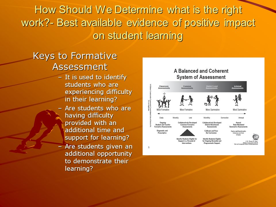 Keys to Formative Assessment