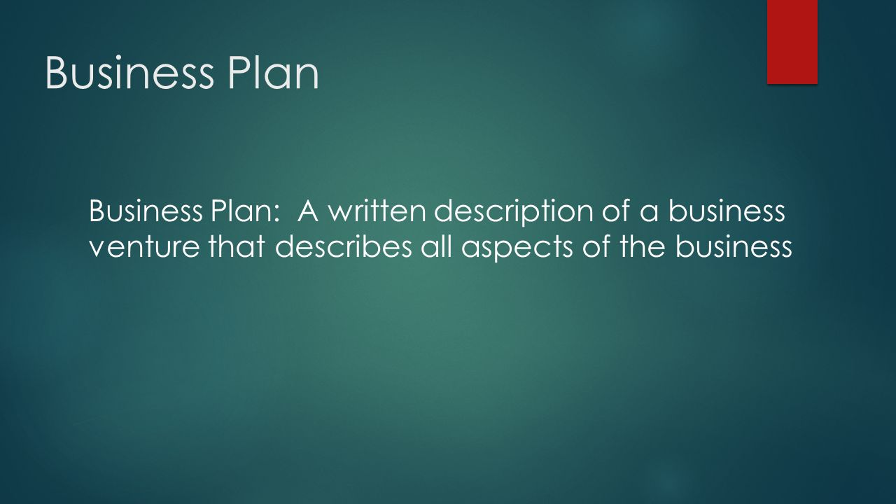 Business Plan. - ppt download