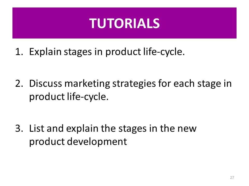 the stages in the new product New product development is described broadly as the transformation of a market opportunity into a every new product will pass through a series of stages/phases.