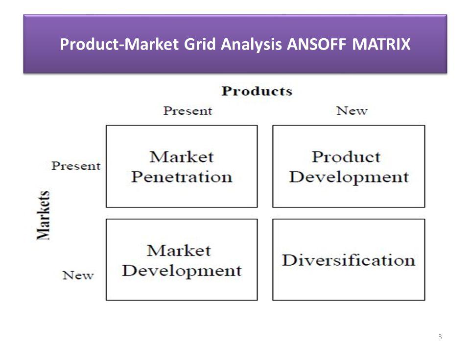 market penetration market development essay