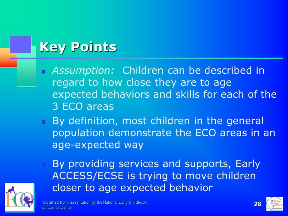 October 2006 Key Points.