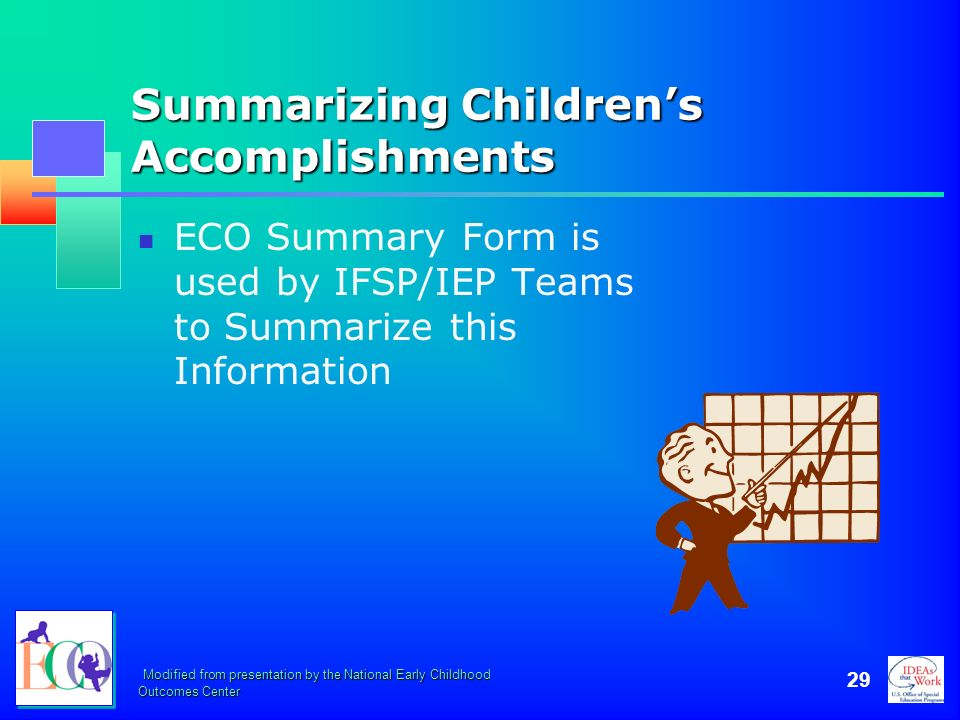 Summarizing Children's Accomplishments