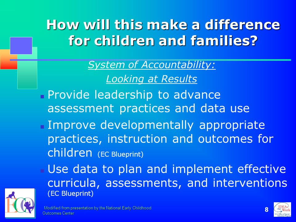 Using the early childhood outcomes summary form ppt download 8 how malvernweather Image collections