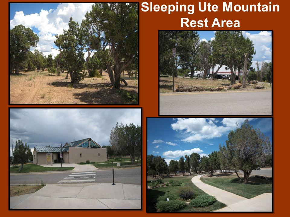 Sleeping Ute Mountain Rest Area