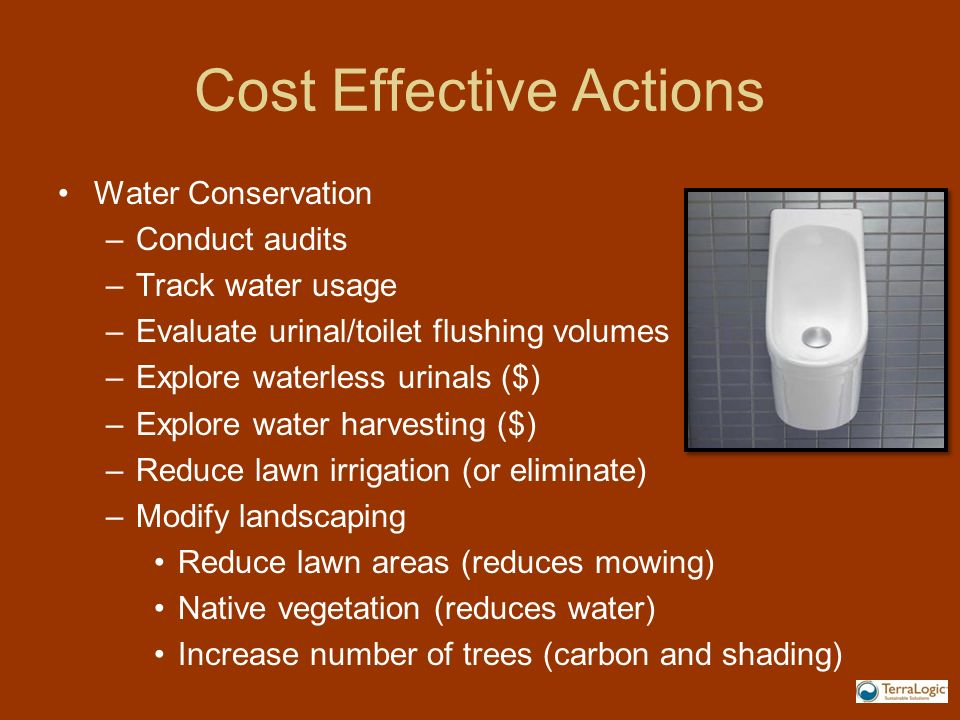 Cost Effective Actions