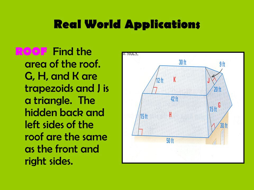 Real World Applications