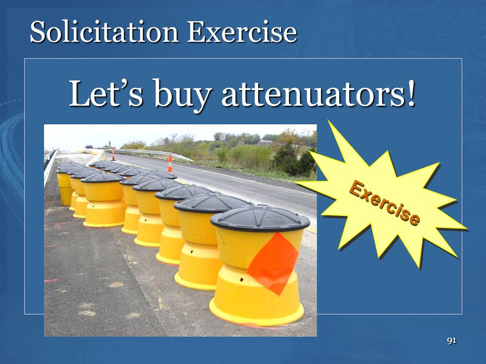 Solicitation Exercise