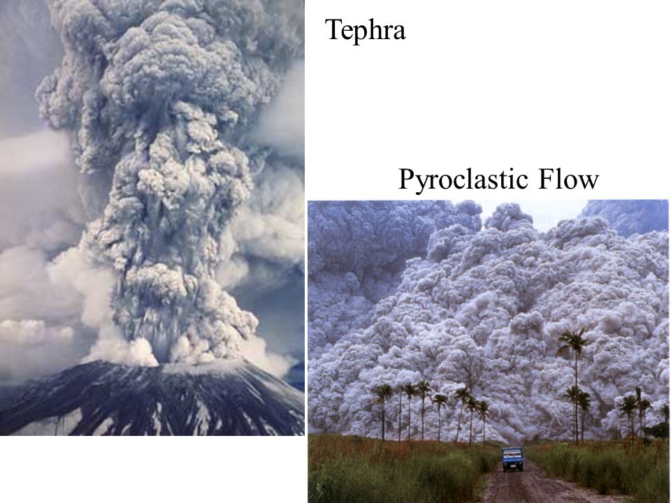 Tephra Pyroclastic Flow