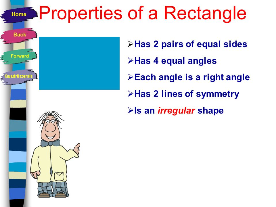 Properties of a Rectangle