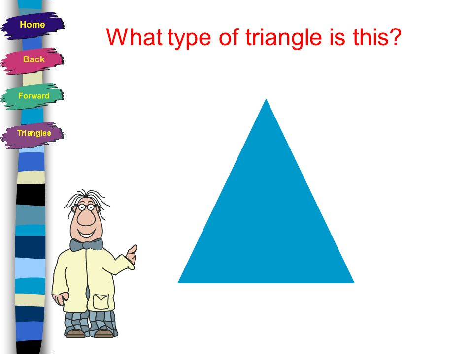 What type of triangle is this