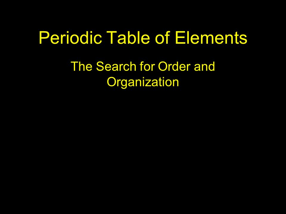 Periodic table of elements ppt video online download periodic table of elements urtaz