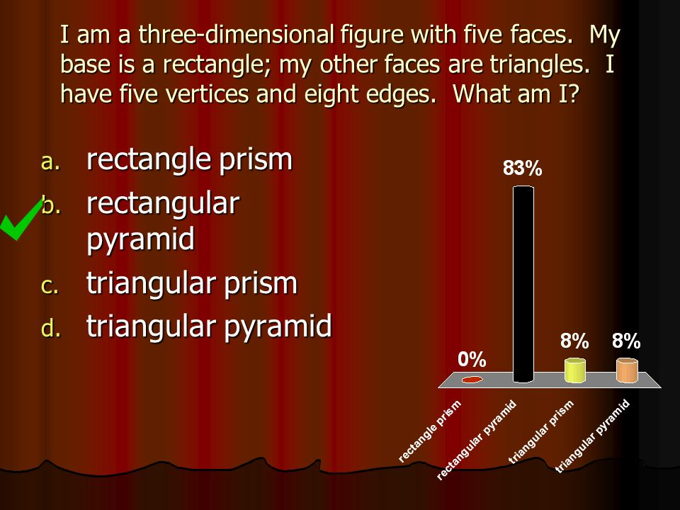 rectangle prism rectangular pyramid triangular prism