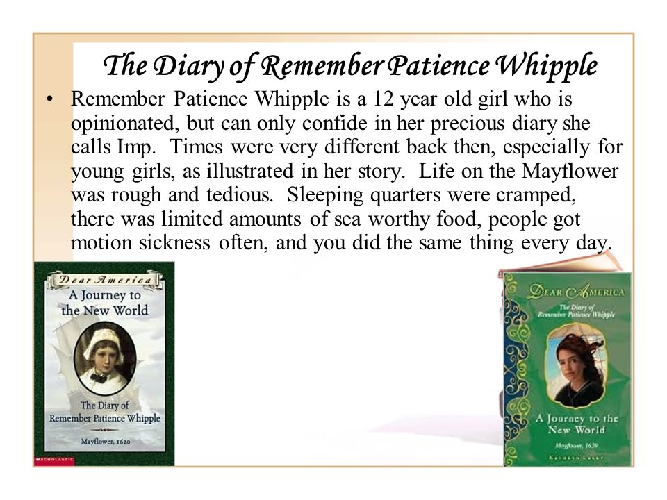 The Diary of Remember Patience Whipple