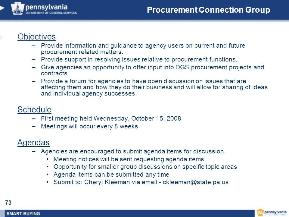 Procurement Connection Group