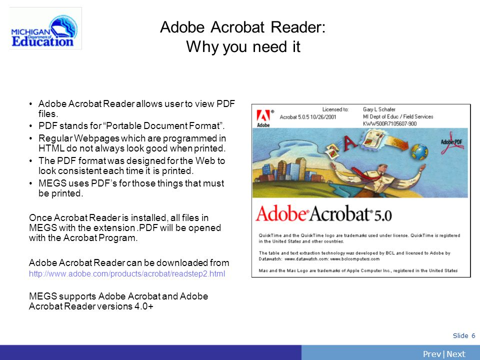 Adobe Acrobat Reader: Why you need it