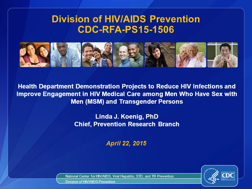 Division of HIV/AIDS Prevention CDC-RFA-PS