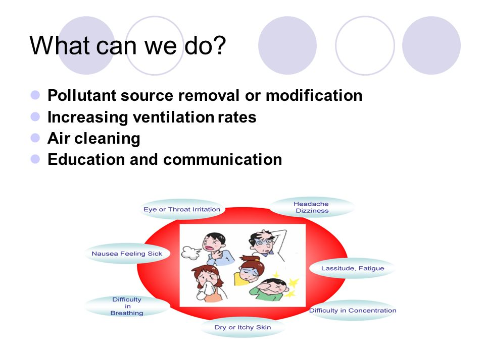 What can we do Pollutant source removal or modification