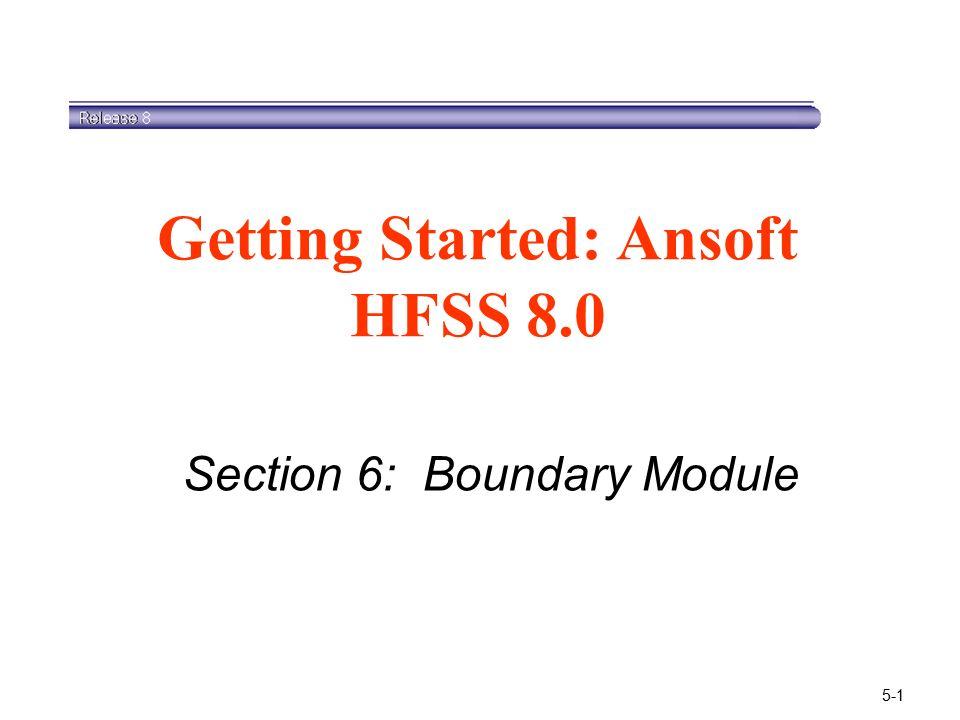 Hfss 3d Layout Training