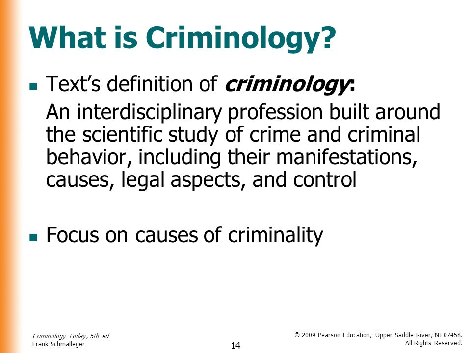 causes of criminal behavior