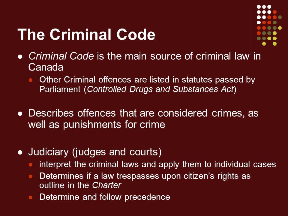 criminal lawjustics sources