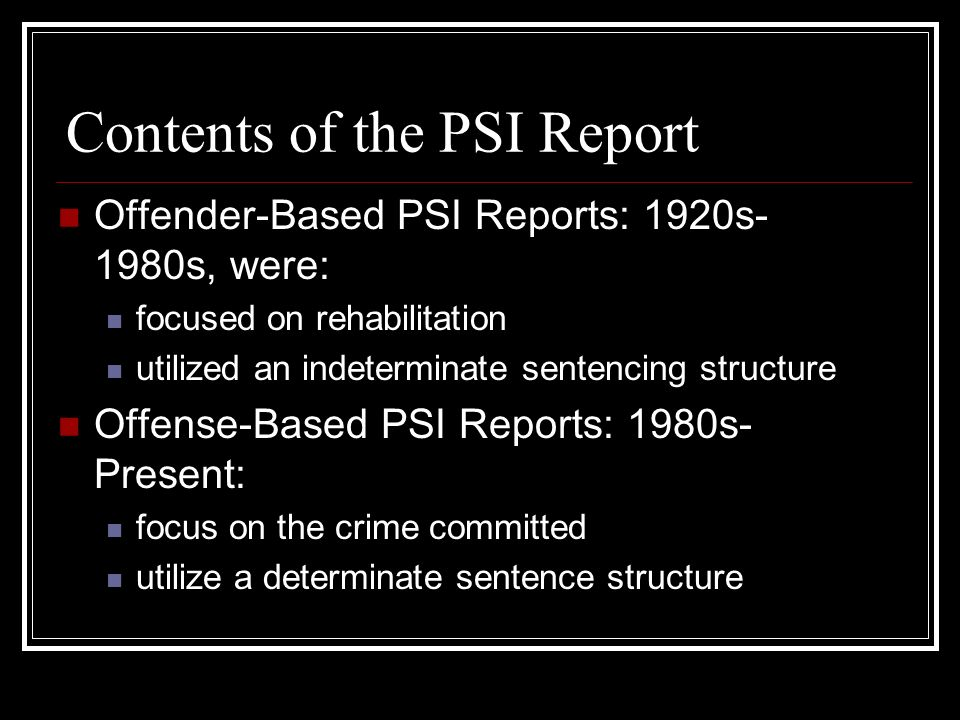 history of parole and indeterminate sentencing But it's had another effect: any prison sentence for some sex offenders is now essentially a life sentence with the possibility of parole former boulder district judge gwyneth whalen, seen during a 2009 murder trial, acknowledges that colorado's indeterminate sentencing law weighs on judges as they.