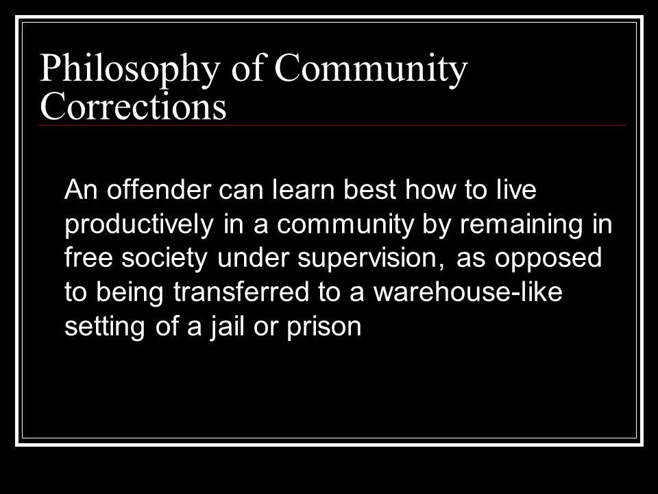sentencing prison and community corrections goals State of alabama alabama department of corrections  community corrections  ccp at the time of sentence as an alternative to prison by the sentencing.