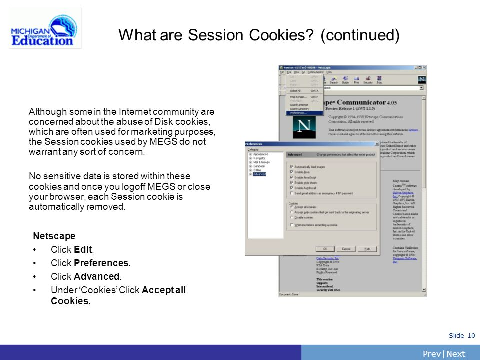 What are Session Cookies (continued)