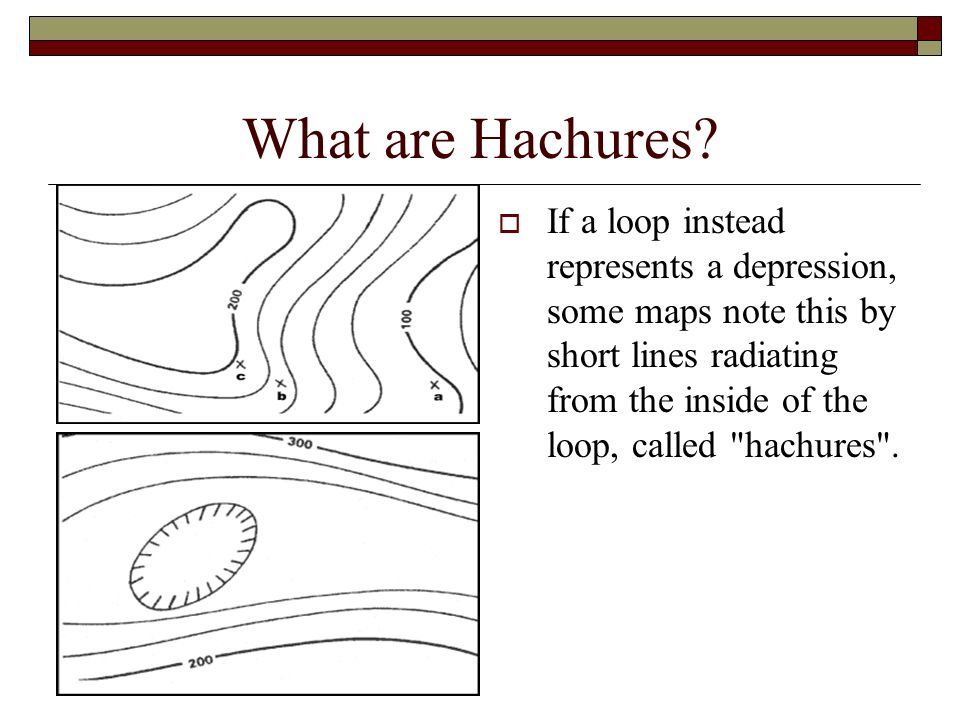 What are Hachures