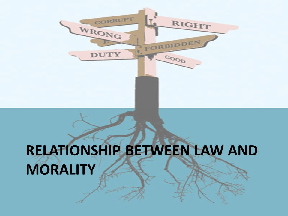 law and morality relationship marketing