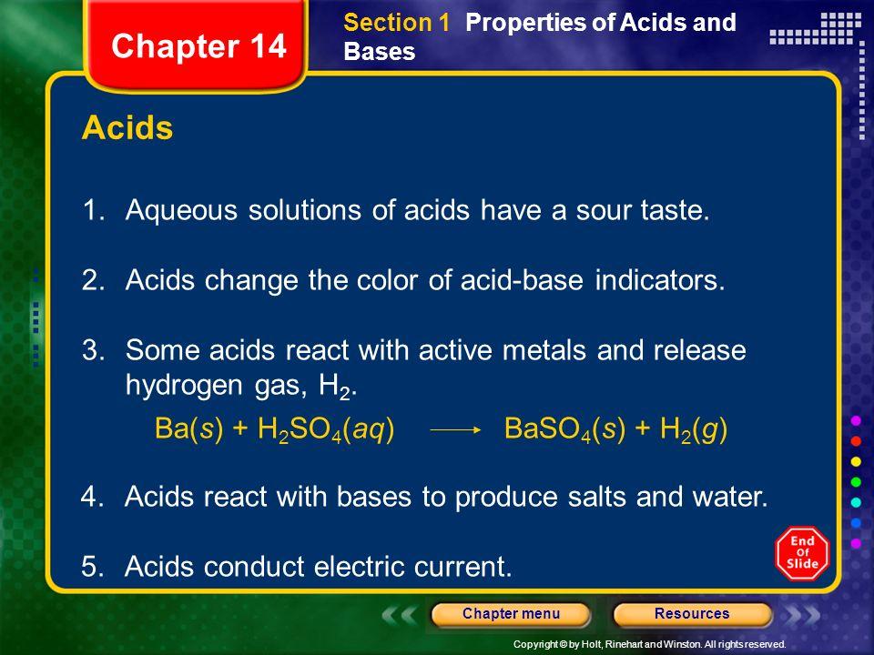 Ba(s) + H2SO4(aq) BaSO4(s) + H2(g)