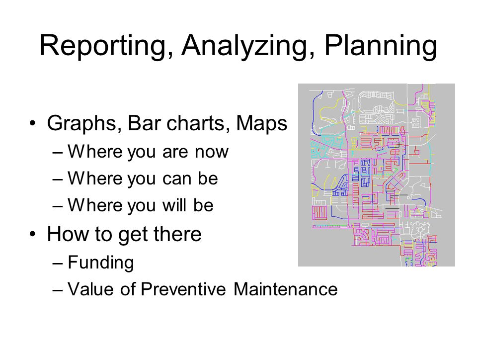 Reporting, Analyzing, Planning