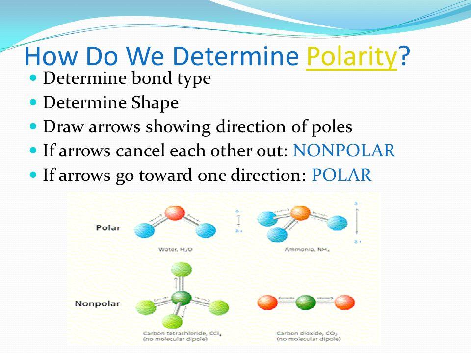 How Do We Determine Polarity