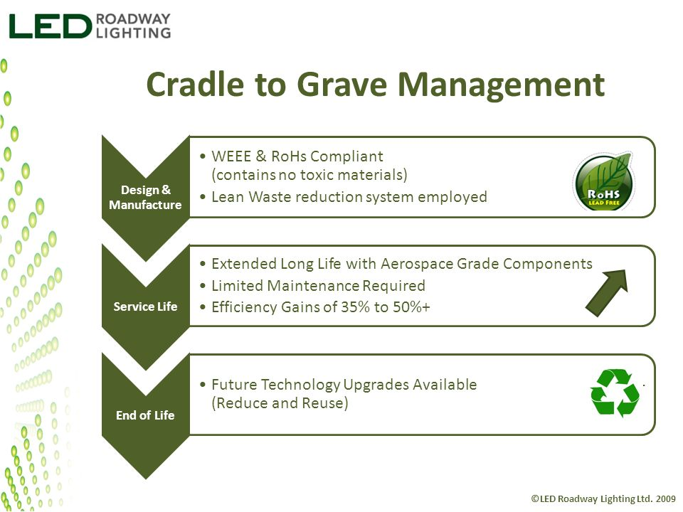 Cradle to Grave Management