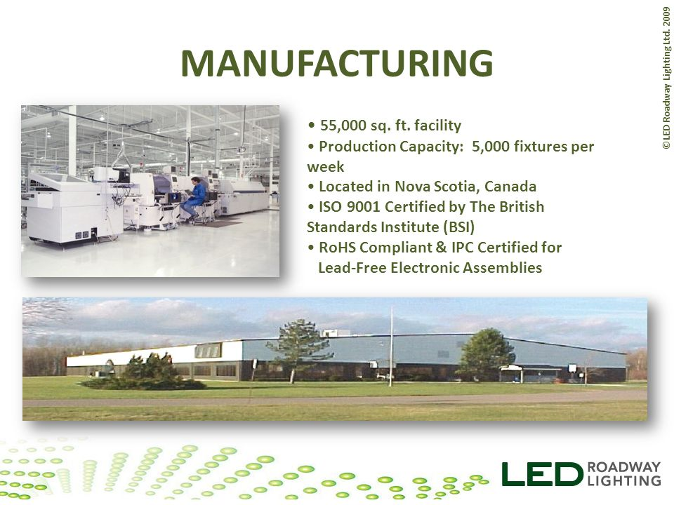 MANUFACTURING 55,000 sq. ft. facility