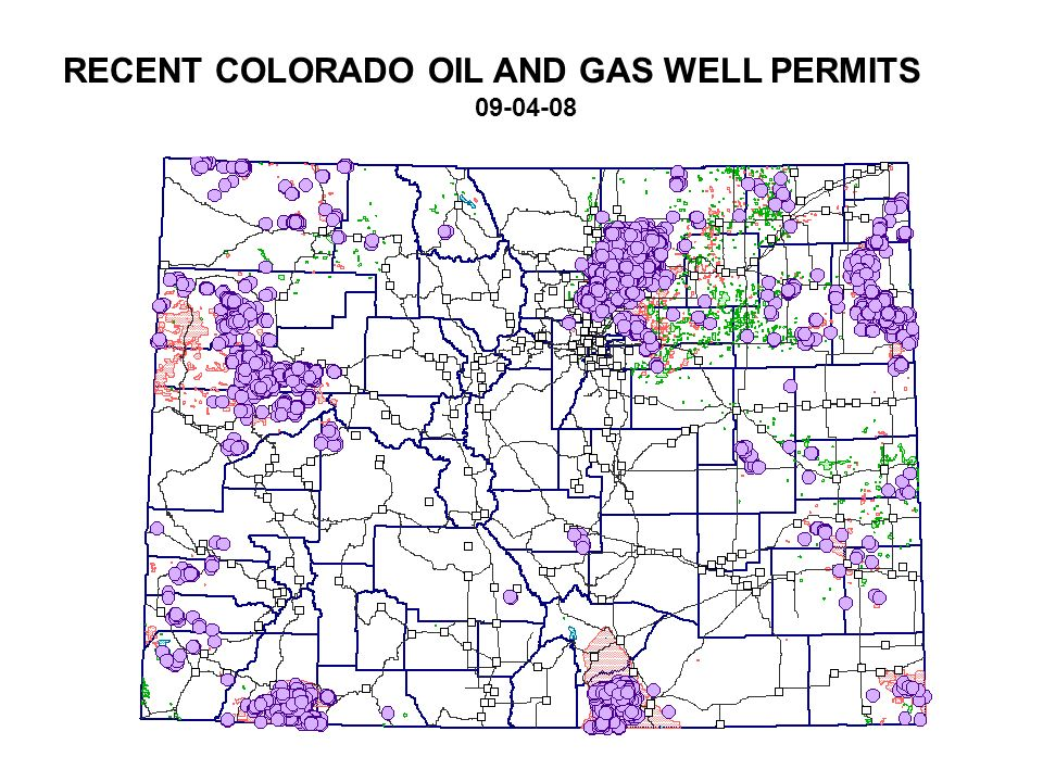RECENT COLORADO OIL AND GAS WELL PERMITS
