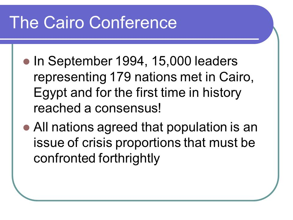 The Cairo Conference