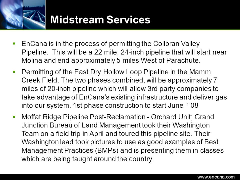 Midstream Services