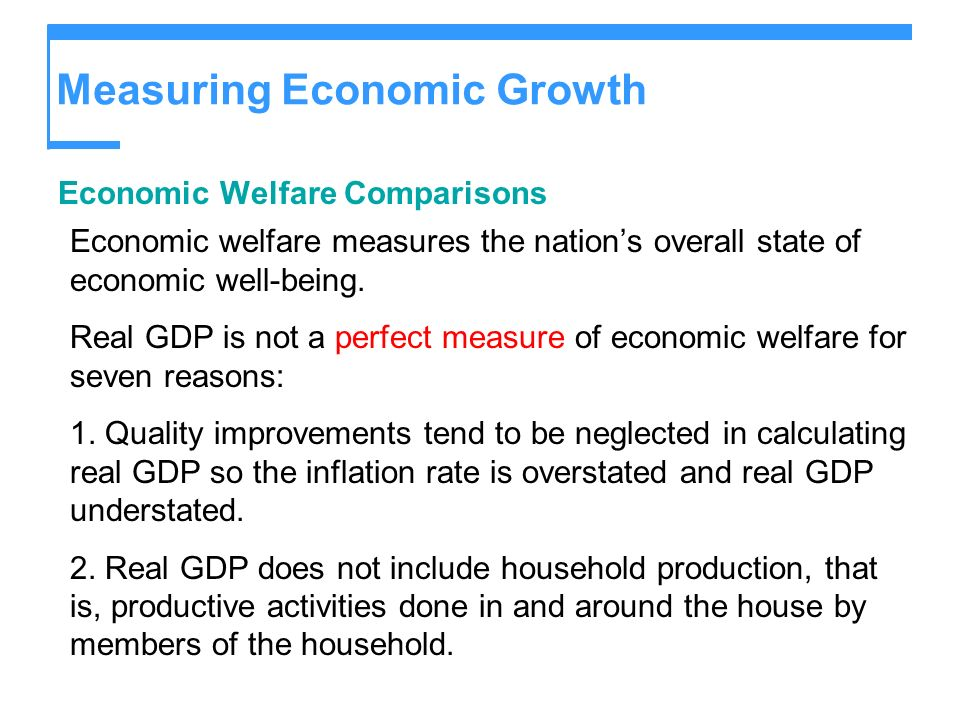 why do economists use real gdp essay Gross domestic product (gdp) is the measure economists typically use to indicate the total size or value of economic production in an economy there is a similar measure called gross national product (gnp).
