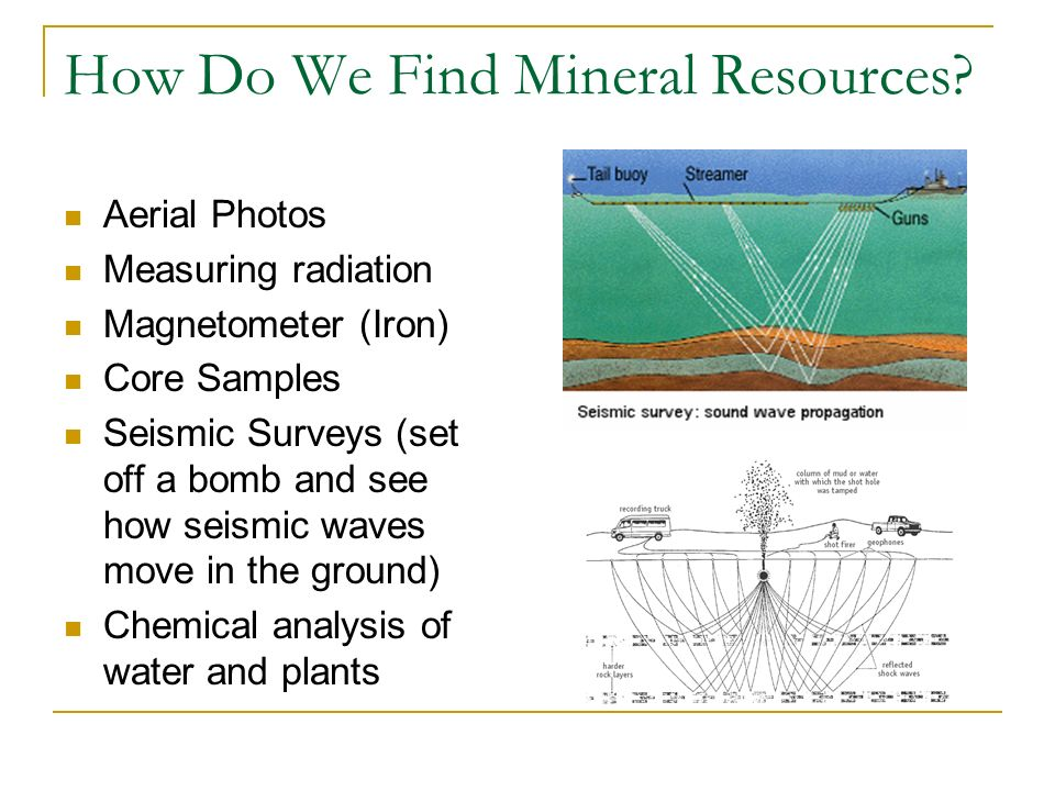 How Do We Find Mineral Resources